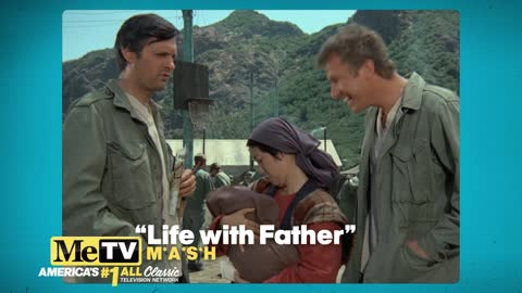 A reference to the MASH movie in the M*A*S*H TV show